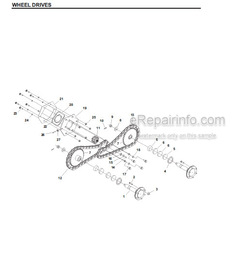 Gehl SL3635 SL3935 Parts Manual Skid-Steer Loader 908267