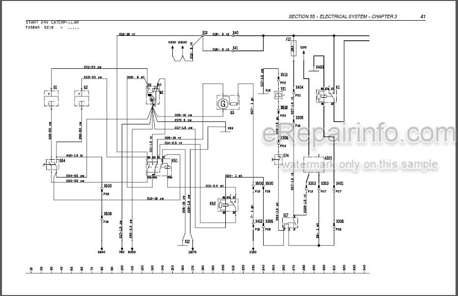 New Holland FX25 FX45 FX28 FX38 FX48 FX58 Repair Manual