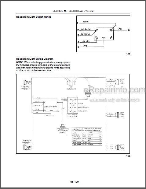 New Holland LS160 LS170 Repair Manual Skid Steers 87036983 – eRepairInfo.comeRepairInfo.com