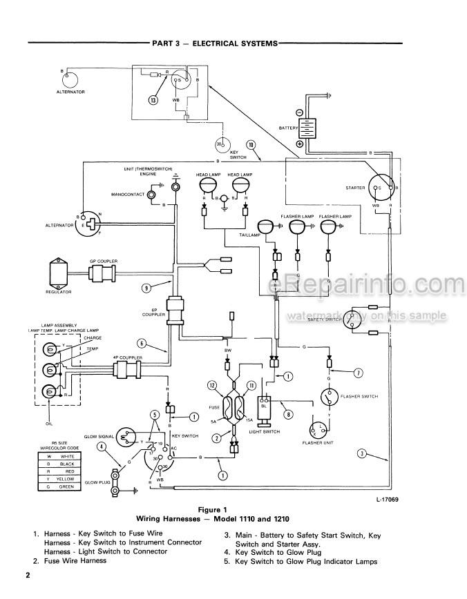 Ford 1110 1210 Service Manual Tractor 42111020 – eRepairInfo.comeRepairInfo.com