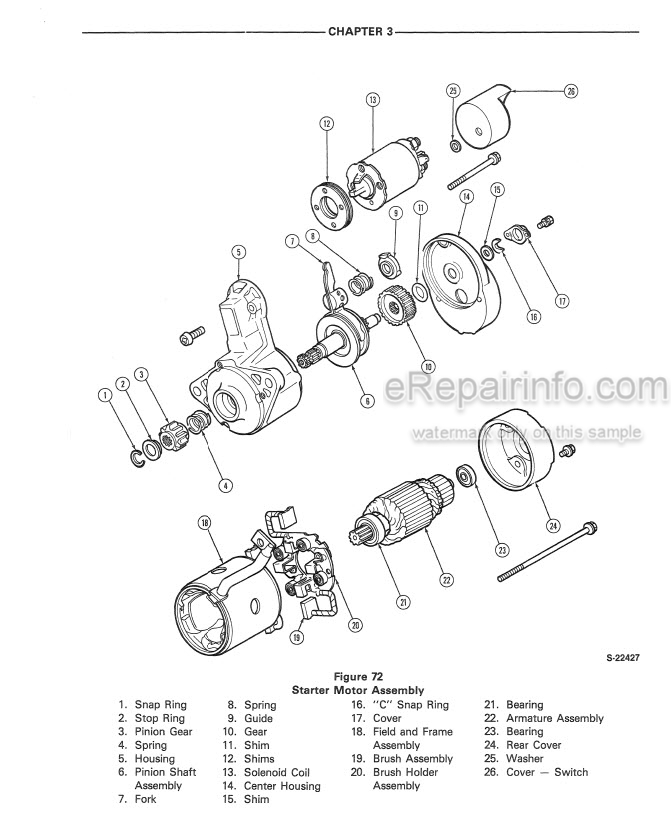 Ford CM224 CM274 Service Manual Commercial Mower 40022420