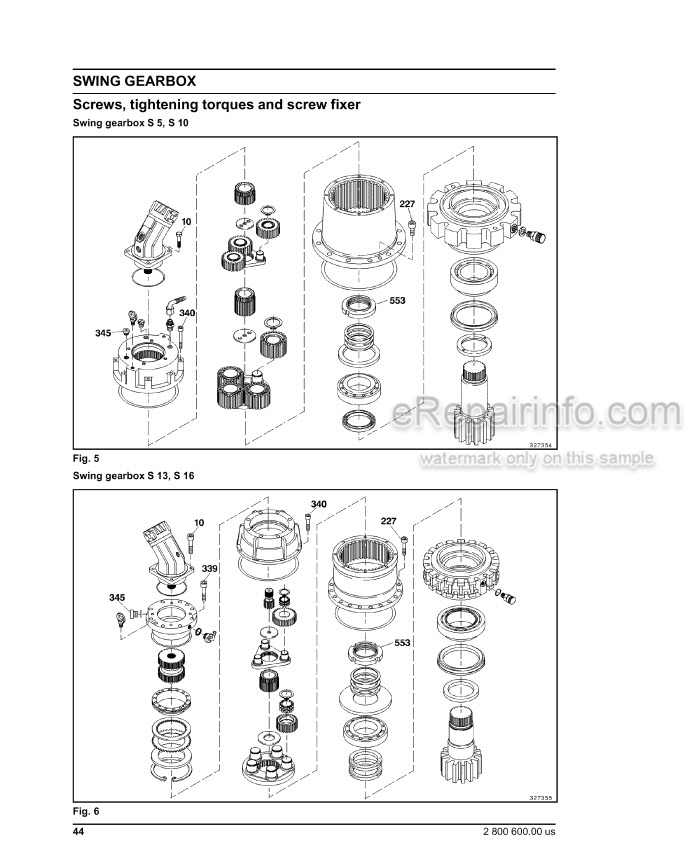 New Holland EC215 Service Manual Excavator 73179384