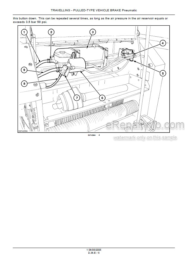Case RBX341 Silage Pack Repair Manual Round Baler 6
