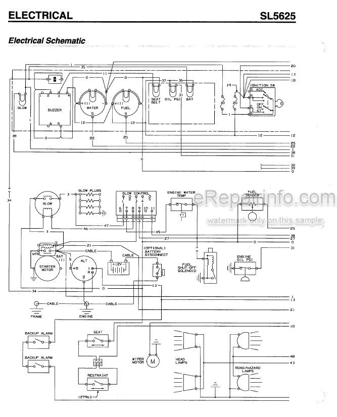 Gehl 5625 Shop Manual Skid Steer Loader 907245 – eRepairInfo.com | Gehl Skid Steer Wiring Diagram |  | eRepairInfo.com