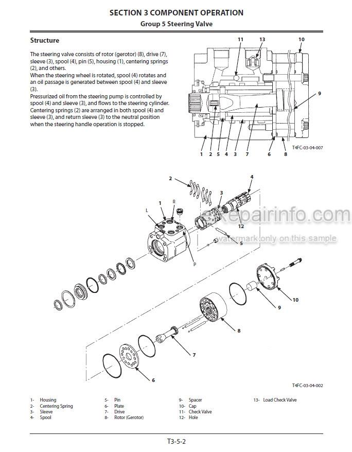 Kawasaki 62Z7 67Z7 67TM7 Shop Manual Wheel Loader