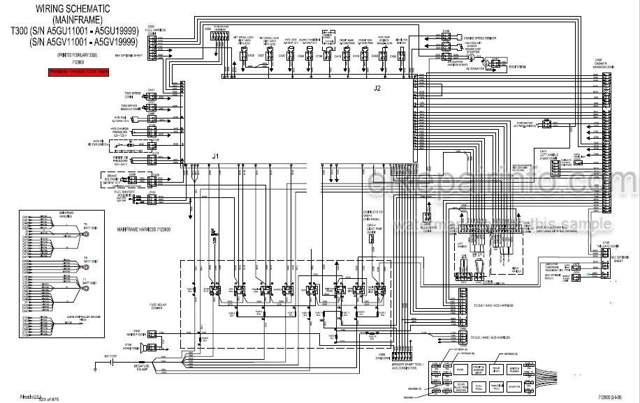 Bobcat T300 Service Manual Compact Track Loader 6986683