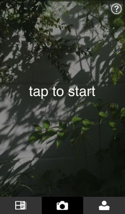 Photosynth - Tap to start