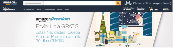 Inicio - Amazon