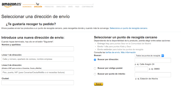 Selección de envío - Amazon (1:2)