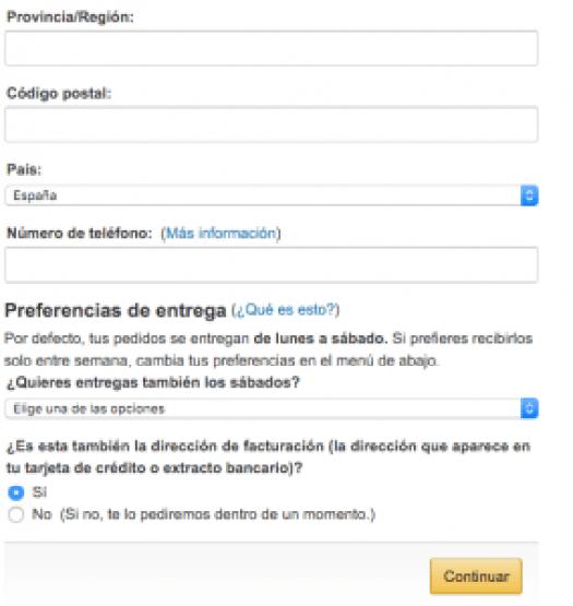 Selección de envío - Amazon (2:2)