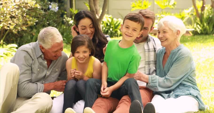 no es necesario agobiarse para organizar una reunión familiar.