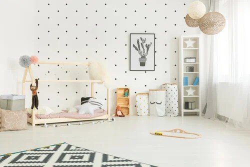 El mtodo Montessori para decorar la habitacin infantil