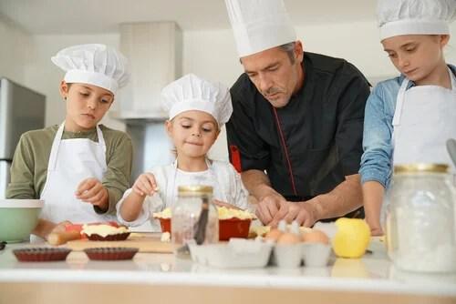 Talleres de cocina para nios