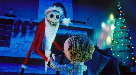 Pesadilla antes de Navidad, una de las películas para niños relacionadas con la Navidad.