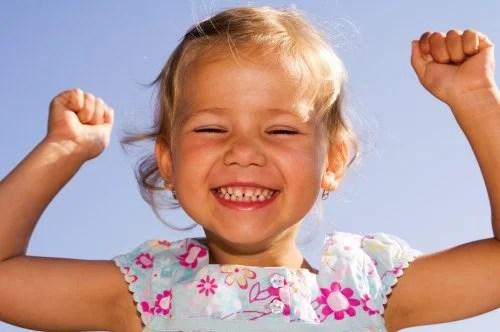 Educar niños optimistas.