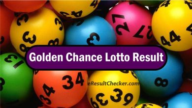 Golden Chance Lotto Result