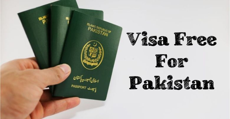 Free VISA Country List For Pakistan
