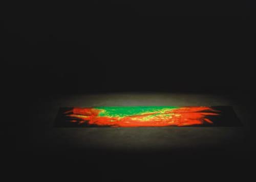 משה ניניו - שטיח-קשת. הולוגרמה