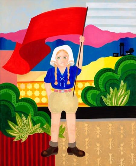 אליהו אריק בוקובזה – ציור מתוך התערוכה