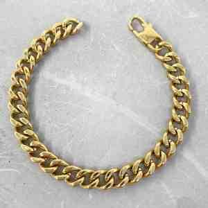 צמיד גורמט לגבר- קארל - זהב