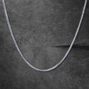 שרשרת זהב לגבר- ספיגה- זהב לבן
