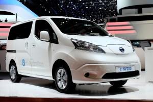 Bild vom Nissan e-NV200