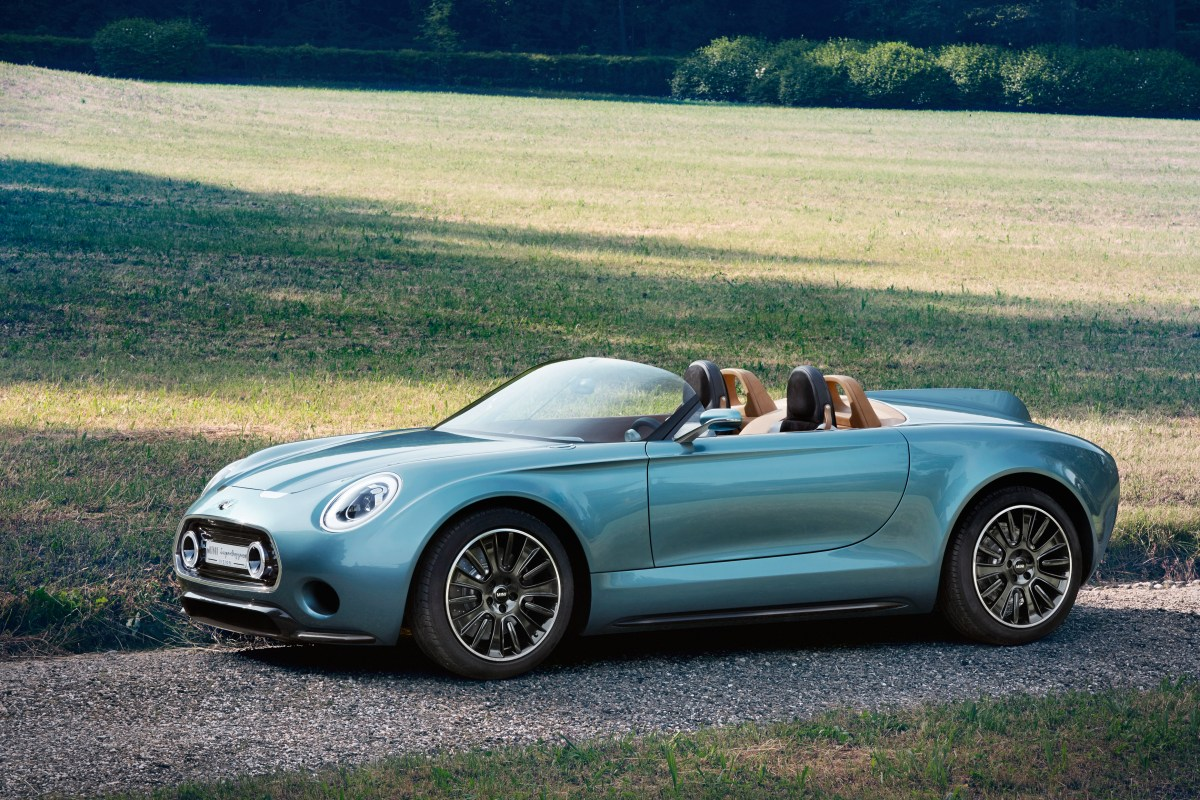 Bild der MINI Vision - Superleggera (Quelle: BMW Group)
