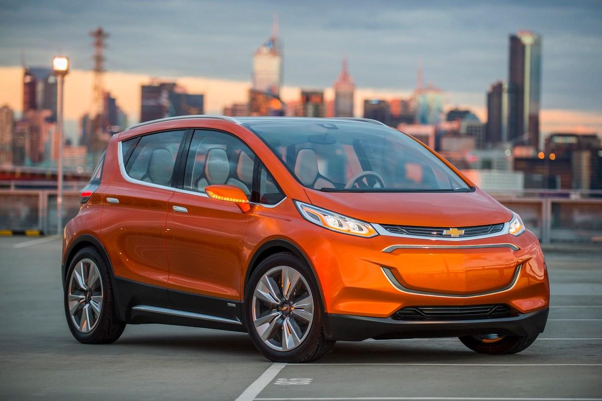 Bild des Chevrolet Bolt EV Konzept - Vorderansicht (Quelle: GM)
