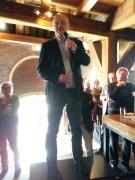 Jan Willem Broekema van de Vrienden van het Singelpark