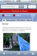 Mobiele Site HdK