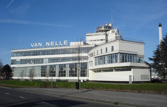 Rotterdam Van Nelle fabriek. Foto F. Eveleens