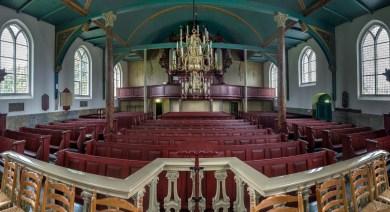 Interieur kerk Midwolda (Fotograaf Ducan Wijting)