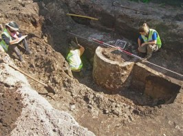 Referentiebeeld: Gemetselde waterput in Breda Foto: Gemeente Breda