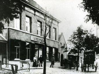 Voormalig hotel Het Station. Nu Hotel Luijk, Oss Foto: Stadsarchief Oss