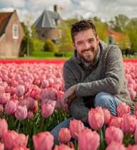 """Jeroen van Zoolingen, auteur van """"Het Verleden van de Velden"""" bij 't Huys Dever."""