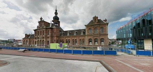 Het oude station van Delft