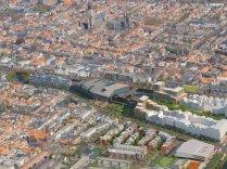 Impressie spoorzone - Bron Spoorzone Delft