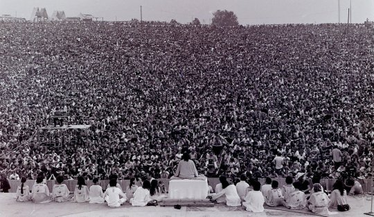 Openingsceremonie Woodstock