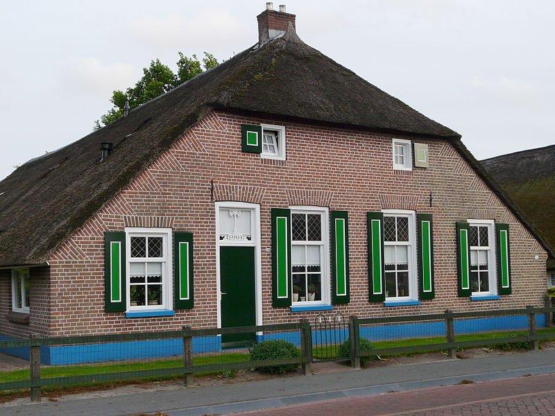 Steeds minder rieten daken in Staphorst