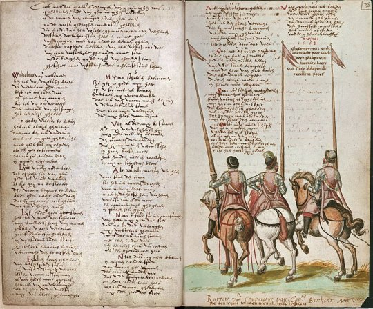 Handschrift met het Wilhelmus uit 1617