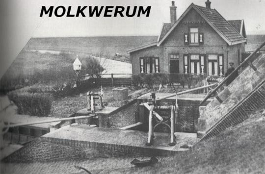 't Sluisje van Molkwar (Molkwerum) rond 1930
