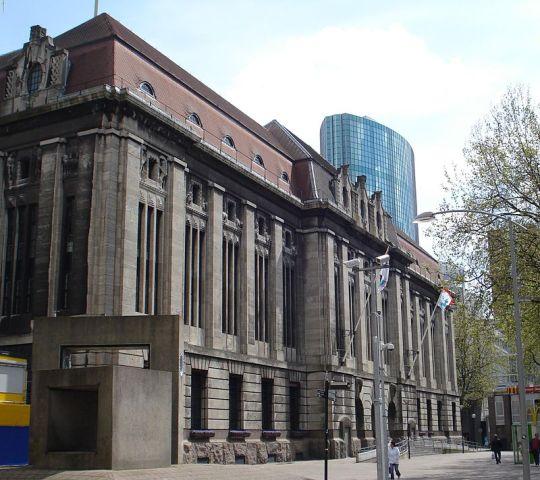 Hoofdpostkantoor aan de Coolsingel in Rotterdam