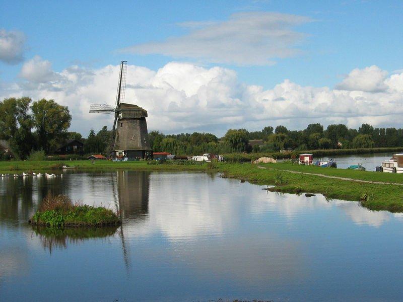 Ouderwetse poldermolens Noord-Holland herontdekt