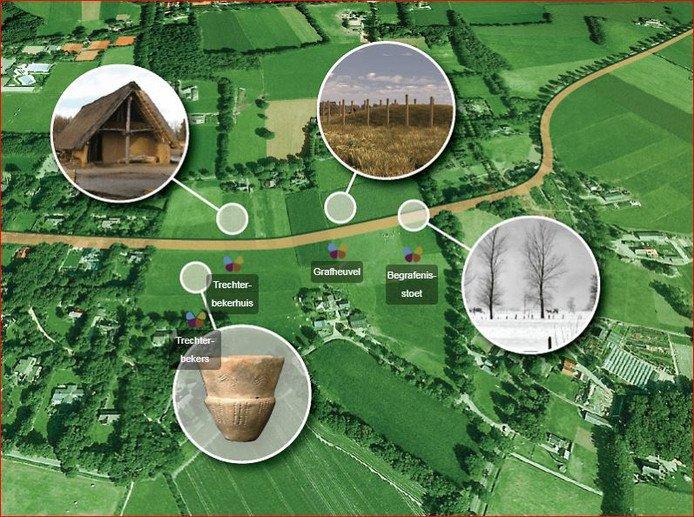 'Familieweg' geïnspireerd op archeologische vondsten Dalfsen (€)