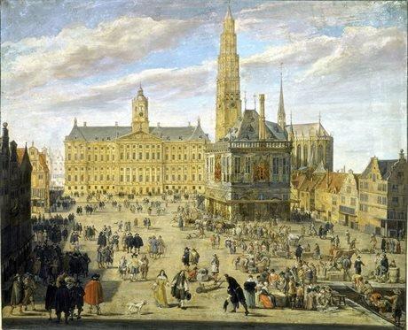 Tekening uit de 17e eeuw