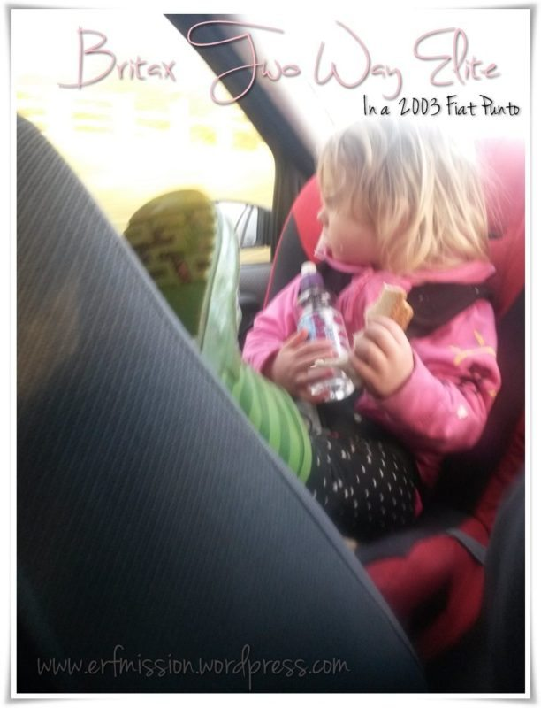 Britax Two Way Elite - A Toddler's Point of View