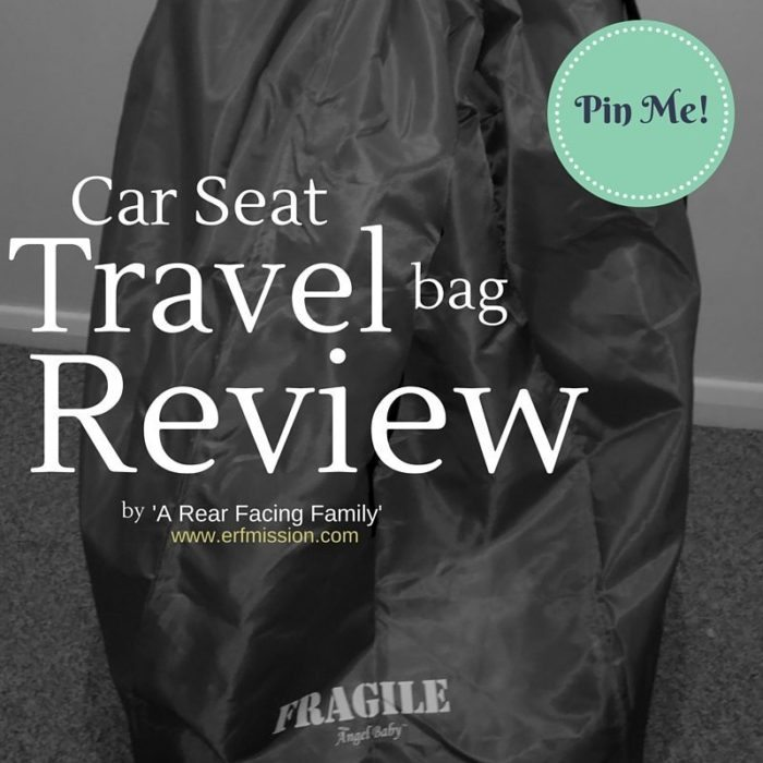 Can't live without it! The Car Seat Travel Bag review. – A