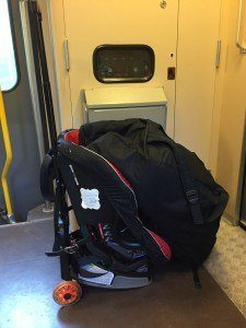 Travelling with car seats