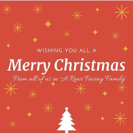 From all of us in 'A Rear Facing Family'