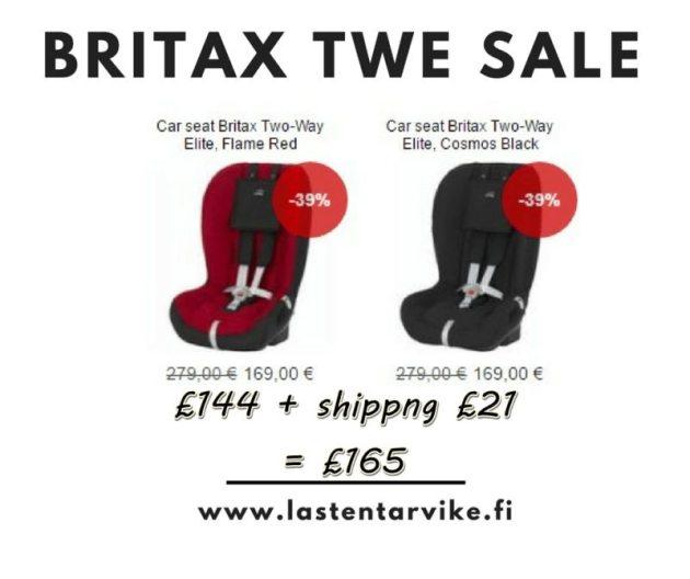 Britax TWE SALE Finland